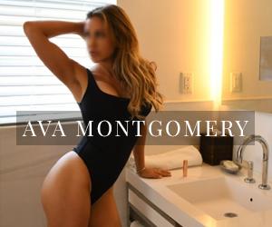 Athletic model escort fit high-end companion Ava Montgomery