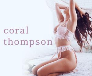 New York city high end escort upscale companion Coral Thompson
