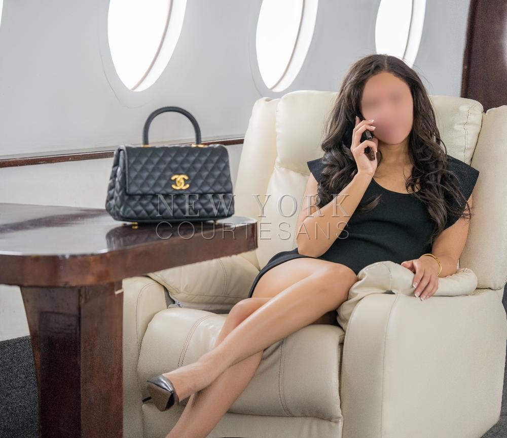 Luxurious escort NYC Alexandra Chastain